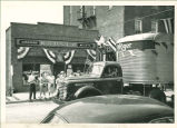 Brownsburg Centennial Parade: Kroger Grocery and truck