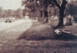 Cemetery, looking south of 267 toward 56th Street, west side of road,