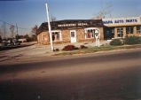 Brownsburg Bridal and Napa Auto Parts on East Main Street