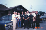 Brownsburg Police Commissioners and Staff, 1988