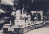 Brownsburg Centennial Pageant Parade (August, 1948): Women's Council, Brownsburg Christian Church...
