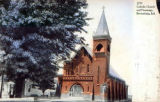 St. Malachy Church and Parsonage Colorized