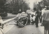 Motorcycle and Car Accident on North Green Street