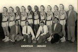 Anderson High School Basketball Team, 1957-58