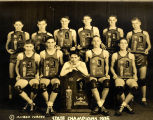 Anderson High School Basketball State Championship Photo, 1935