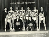 Anderson High School Basketball Team, 1963-64