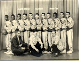 Anderson High School Basketball Team, 1955-56