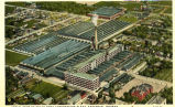 Aerial view of Delco Remy Corporation Plant, Anderson, Indiana