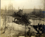 Union Traction Bridge Collapse, Anderson, Ind.