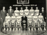 Anderson High School Basketball team, 1959-60