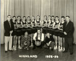Highland High School Basketball team, 1958-59