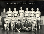 St. Mary's High School Basketball team, 1960-61