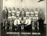 Anderson High School Basketball team, 1958-59