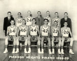 Madison Heights High School Basketball team, 1958-59