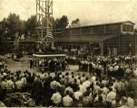 Remy Electric Company, Flag raising