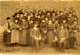 Anderson High School students, 1890