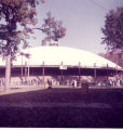 Warner Auditorium Dome Raising, Anderson College, 3