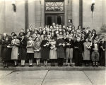 Vacation Reading Club graduates, Anderson Public Library, 1933
