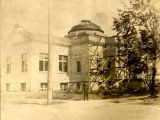 Anderson Carnegie Library Building under construction