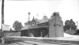 Old Railroad Station in North Madison