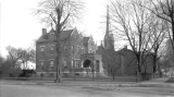 Captain Nathan Powell Home/Madison-Jefferson County Public Library-Northeast Corner of Main and...