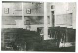 Union Christian College classroom, Merom, Indiana